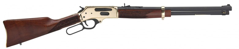 Side Gate Lever Action Rifle